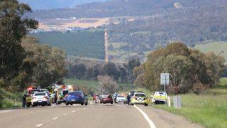 canberra car crash