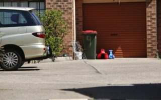 toddler die sydney driveway