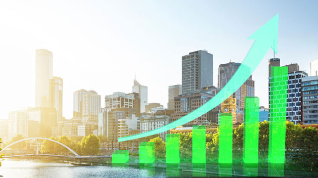 The number of properties for sale in Melbourne have soared following news of eased lockdown restrictions.