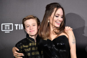 John Jolie-Pitt, Angelina Jolie