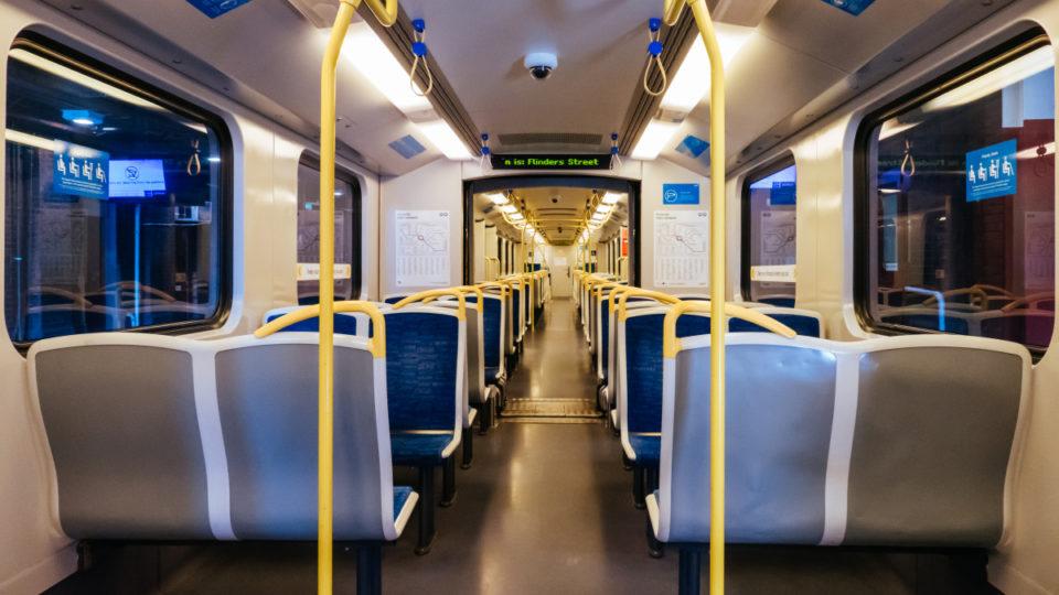 melbourne train virus clean