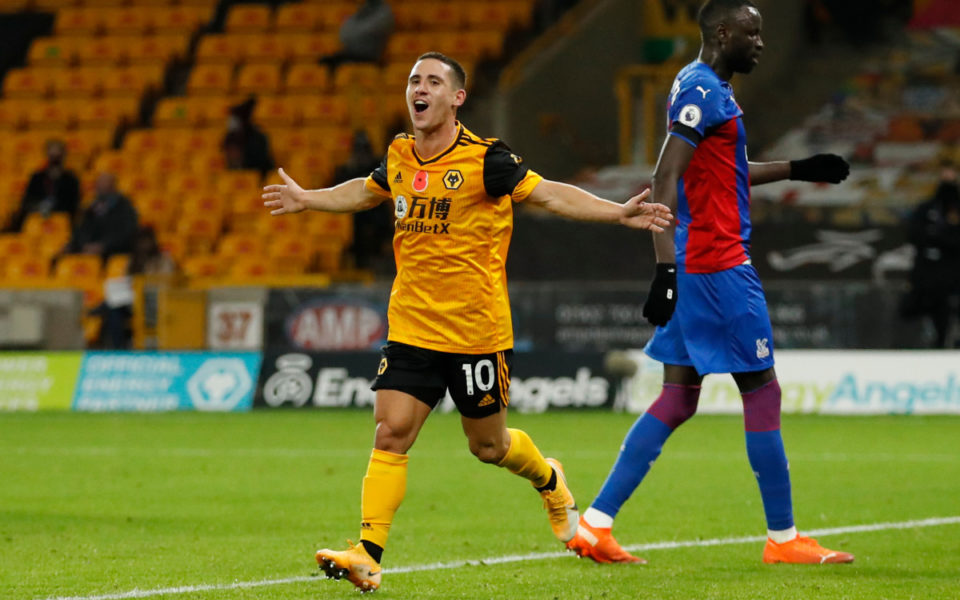 Wolves joint top after EPL victory over Crystal Palace ...