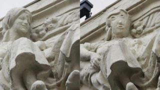 palencia statue restoration