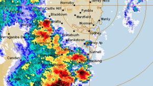 sydney hail storm