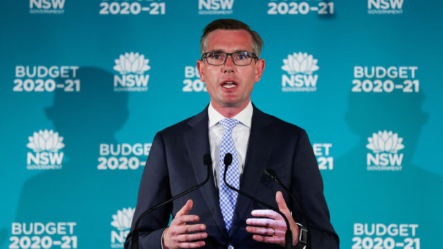 The NSW government will give every adult resident $100 in spending vouchers.