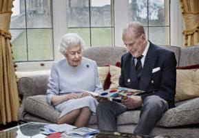 queen philip 73 anniversary