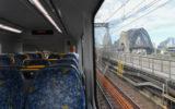 sydney harbour bridge train