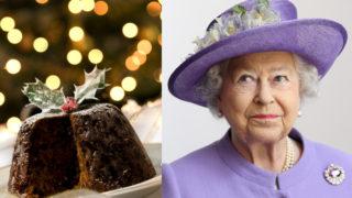 Royal Christmas pudding