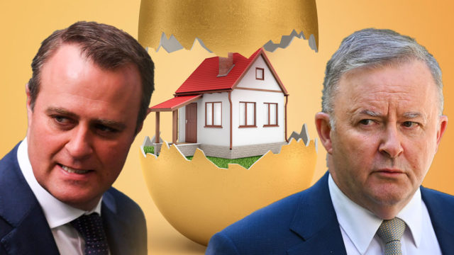 Politicians are fighting over whether first-home buyers should be given greater early access to superannuation.