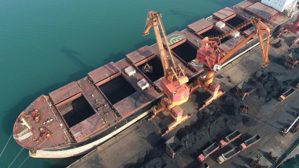 china coal ports australia