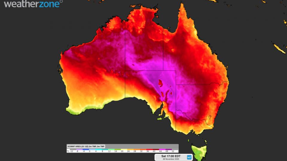 november heatwave