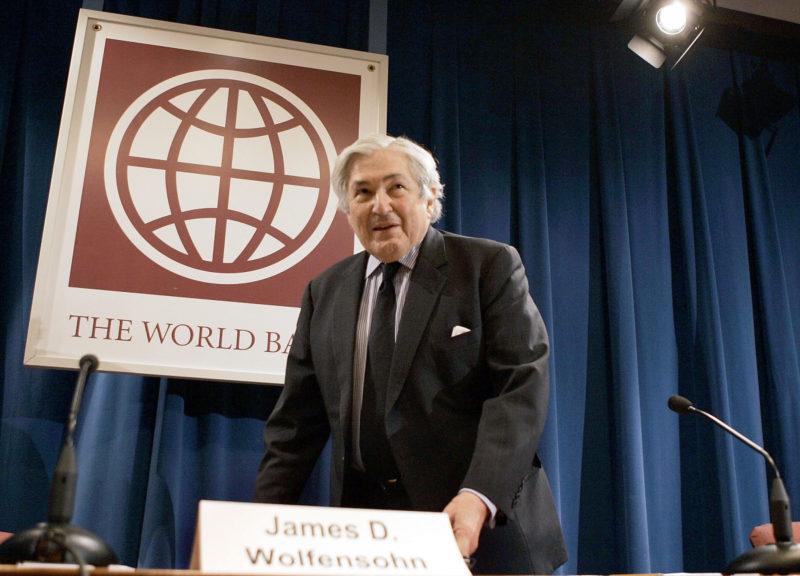 World Bank President James Wolfensohn in 2004