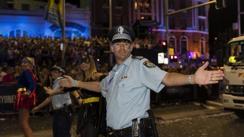 sydney mardi gras police