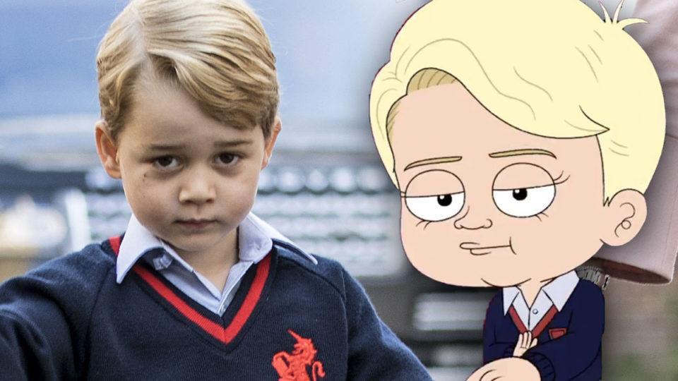 Prince George Cartoon delayed