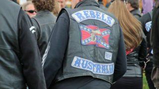 rebels bikies bushfire aid