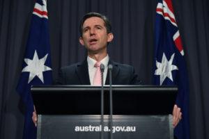 Simon Birmingham says Australia is taking China to the WTO over barley.