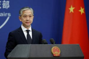 China Foreign Ministry spokesman Wang Wenbin