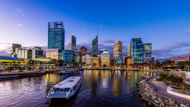 How about brining in 2021 from the water? You can do that while watching the fireworks in Perth. Photo: Getty