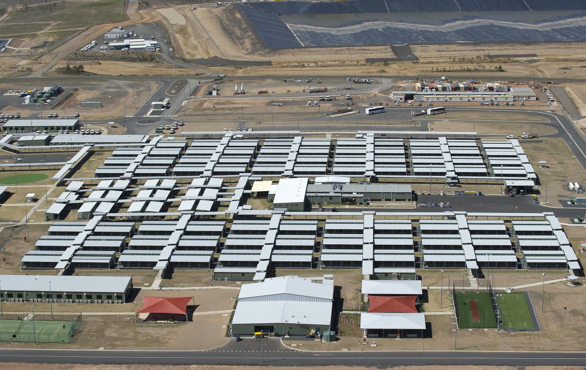 queensland quarantine mining camp