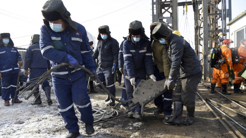 china gold mine explosion