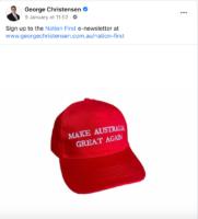 George Christensen has borrowed Trump tactics.