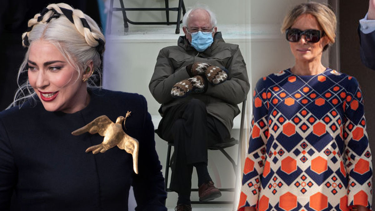 Bernie S Mittens And Gaga S Brooch The Best Inauguration Memes