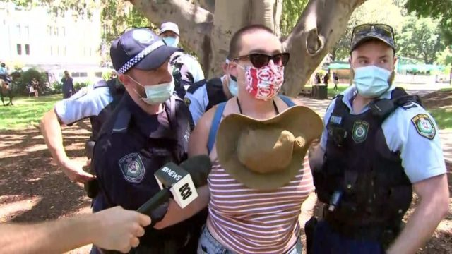 Several arrested in Sydney's Hyde Park after peaceful Invasion Day protest