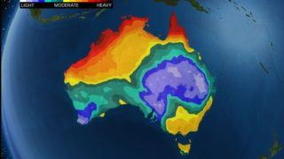 summer rain australia