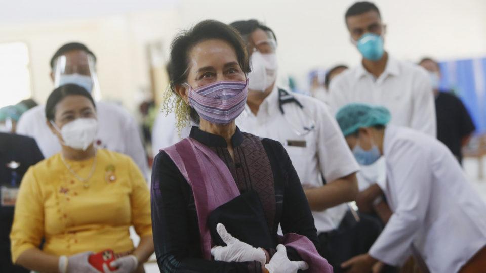 Myanmar leader Aung San Suu Kyi detained