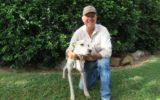 man lost dog found
