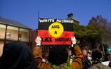 Solidarity protests have popped up in Australia, as protests against institutionalised racism continue in the US.