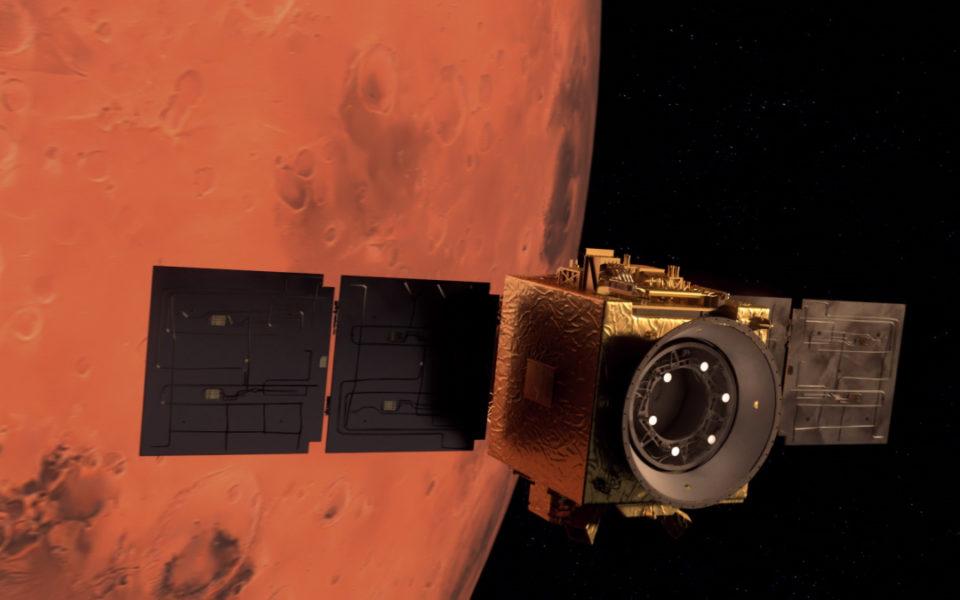 UAE spacecraft enters orbit around Mars – The New Daily