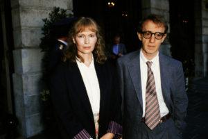 Mia Farrow Woody Allen
