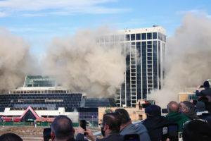 trump casino demolition