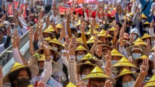 myanmar general strike