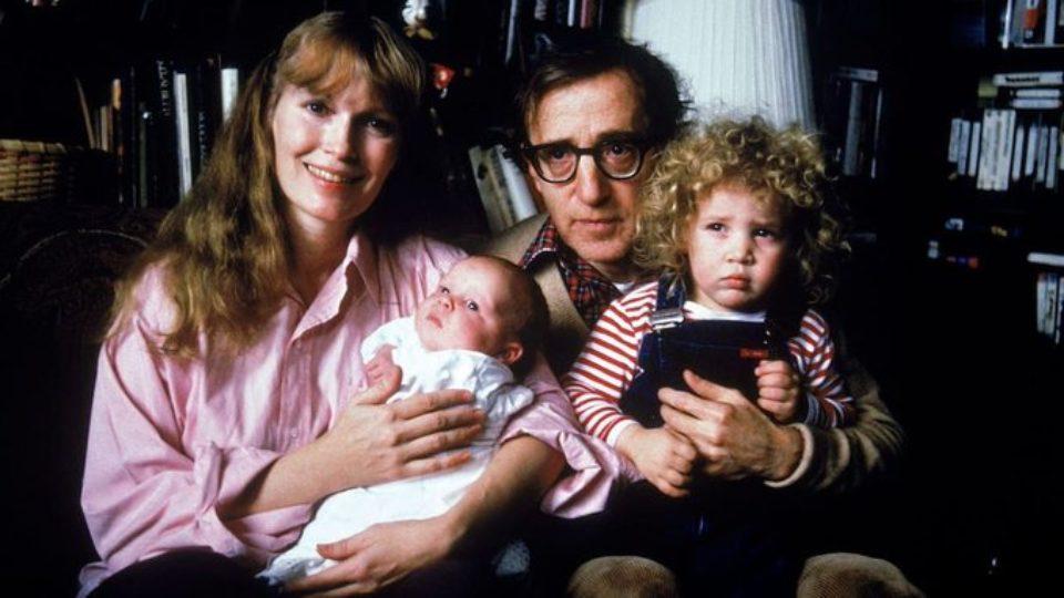 Woody Allen Mia farrow Fylan Farrow