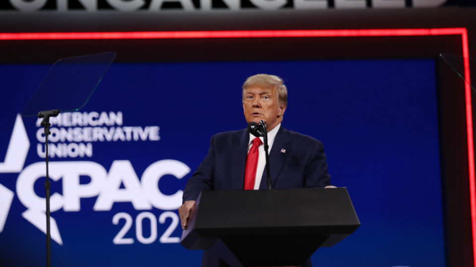 donald trump cpac speech