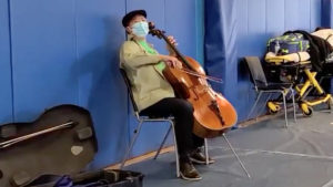 yo-yo ma concert vaccine