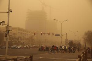 sandstorm china