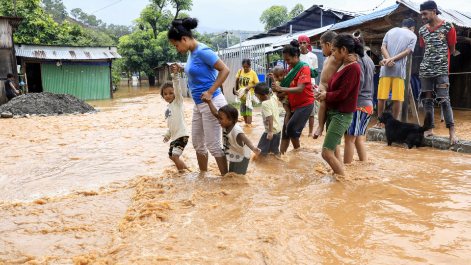 east timor floods