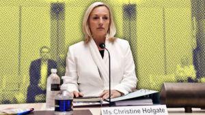 Christine Holgate senate inquiry