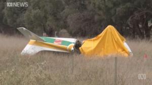 light plane crash aCT