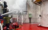 antarctic supply ship fire