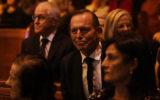 Malcolm Turnbull (left) and Tony Abbott (centre)
