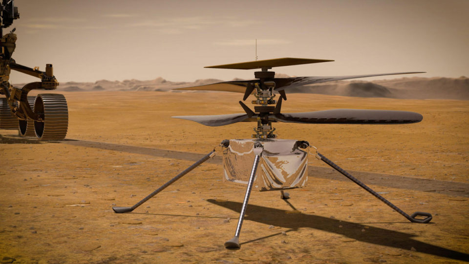 mars helicopter flight