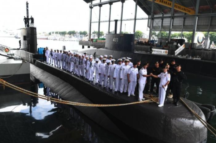missing submarine indonesia