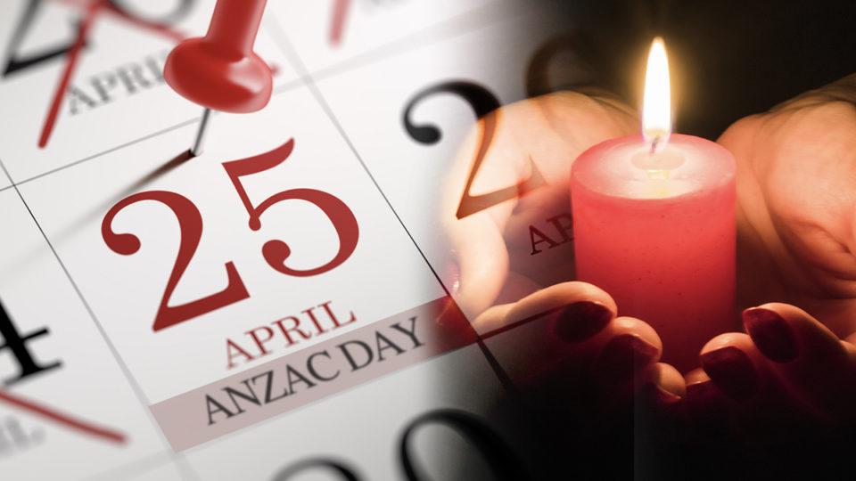 Anzac Day public holiday