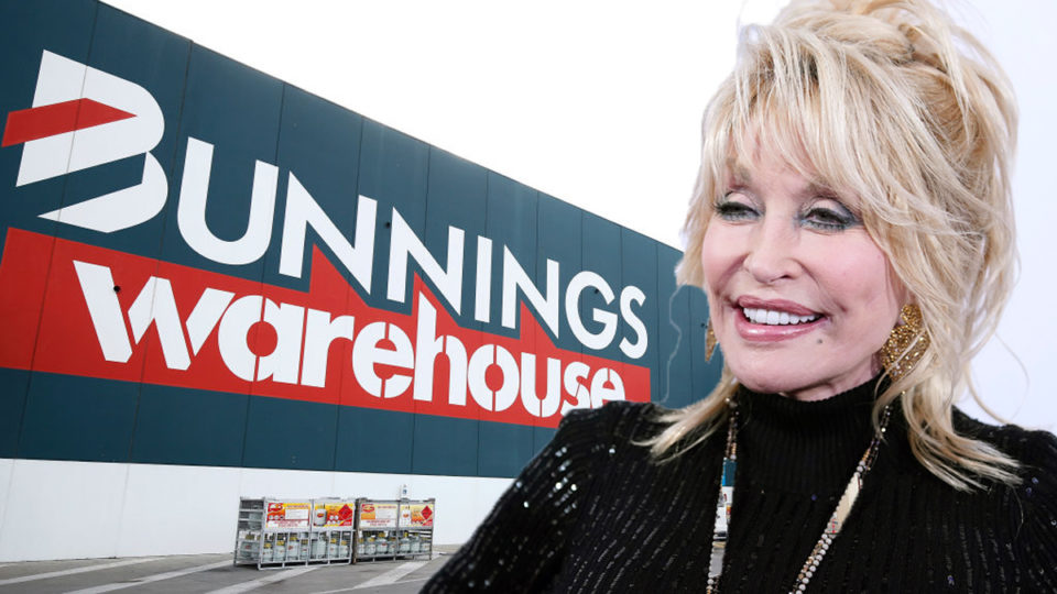 Bunnings and Dolly Parton