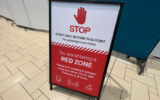 brisbane red zone flight