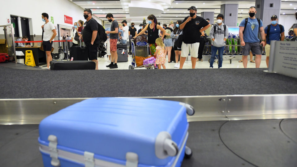 brisbane airport png virus